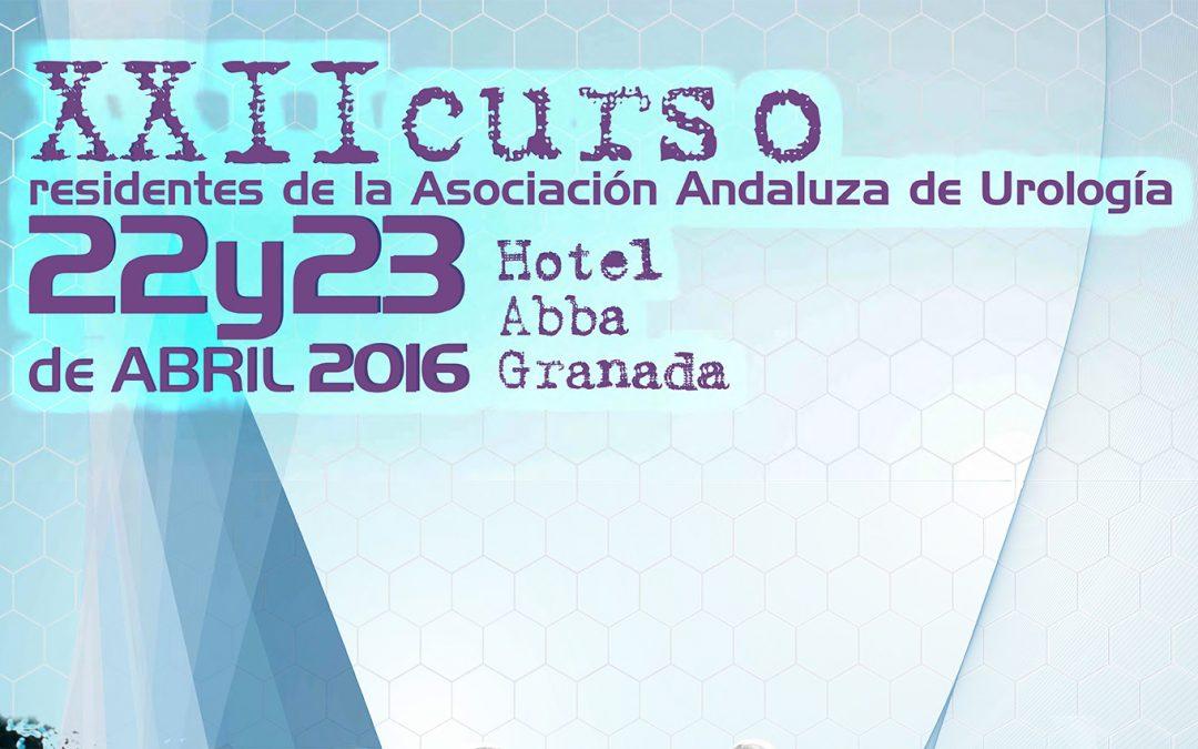 XXII Curso de Residentes AAU 2016