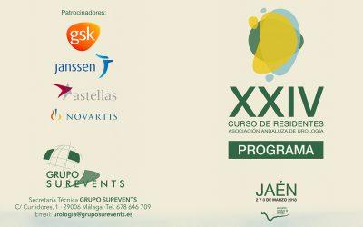 XXIV Curso de Residentes AAU 2018