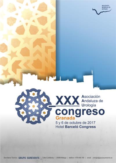XXX Congreso de la Asociación Andaluza de Urología · 2017