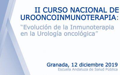 II Curso Nacional de Urooncoinmunoterapia: «Evolución de la Inmunoterapia en la Urología oncológica»