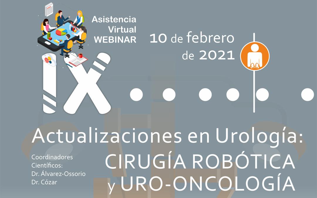 IX Forum Actualizaciones en Urología (AGIU)